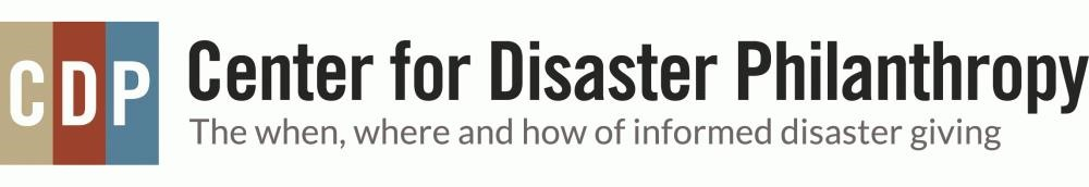 Center for Disaster Logo